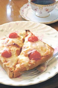 ▲ピザトースト