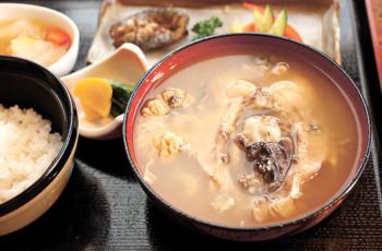 ▲鯉こく定食(1780円)