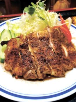 ▲鶏焼き定食(1000円)