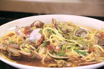 ▲自慢のスパゲッティは10種以上