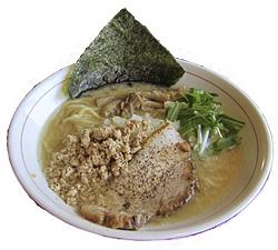 とんちき麺(しろ)720円