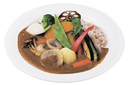 「農場野菜カレー」(1080円)