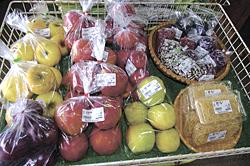 リンゴ・豆類・朝鮮人参の毛も人気