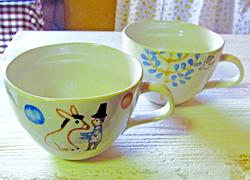 マグカップ各990円