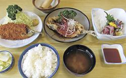「いわし定食〈松〉」1730円