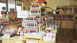 店内には70種以上の商品が並ぶ
