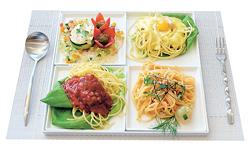 3色スパゲッティー(1080円)