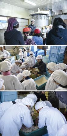 「信州味噌」を未来へつなぐ~初めての味噌作り~
