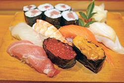 にぎり寿司「上」1900円
