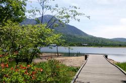 お天気散歩in女神湖