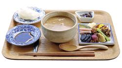 お茶がゆ(飲み物付きで千円)