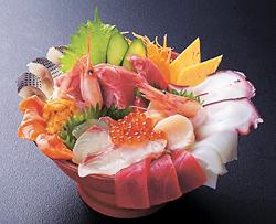 大漁超豪華海鮮丼(3218円)