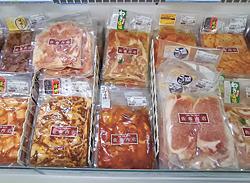 味付け肉シリーズは忙しい主婦にも人気。お土産にも◎