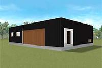 2014年3月に完成予定のモデルハウス